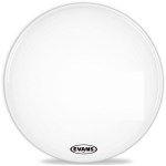 Evans MX1 White Bass Drum Heads - Evans MX1 White Bass Drum Head - 18