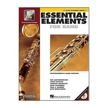Essential Elements Interactive Eb Alto Clarinet Book 1