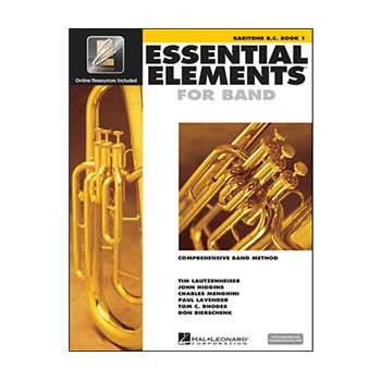 Essential Elements Interactive Baritone B.C. Book 1
