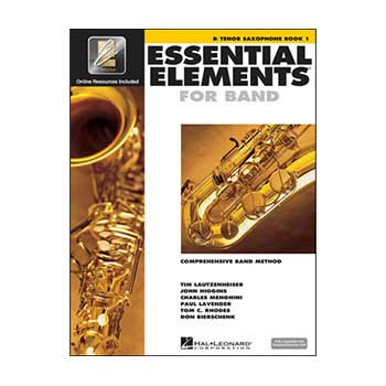 Essential Elements Interactive Bb Tenor Saxophone Book 1