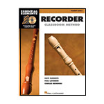 Essential Elements for Recorder Classroom Method – Student Book 1