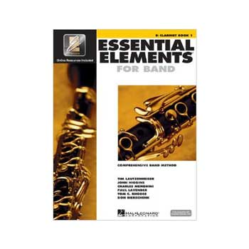 Essential Elements Interactive Bb Clarinet Book 1