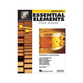 Essential Elements Interactive Percussion/Keyboard Percussion Book 1