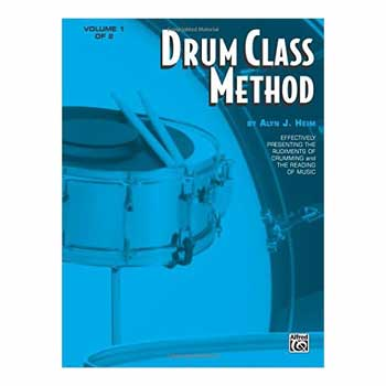 Alan Heim's Drum Class Method Book 1