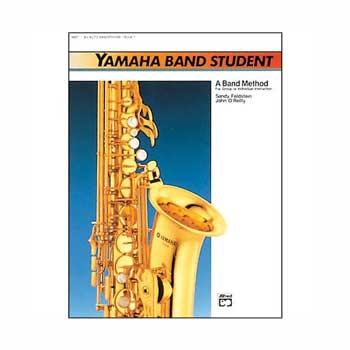 Yamaha Band Student E-flat Alto Saxophone Book 1