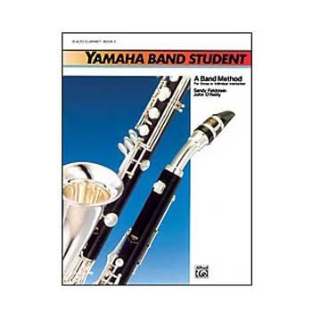Yamaha Band Student E-flat Alto Clarinet, Book 1