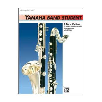Yamaha Band Student B-flat Bass Clarinet, Book 1