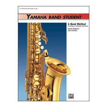 Yamaha Band Student B-flat Tenor Saxophone Book 1