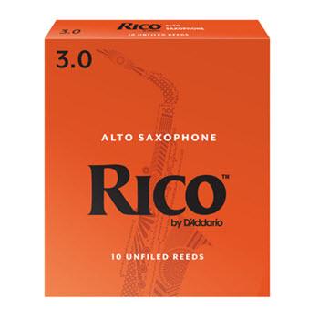 Rico by D'Addario Alto Saxophone Reeds - Unfiled