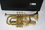 F.E. Olds Cornet, Old Brass Lacquer Finish
