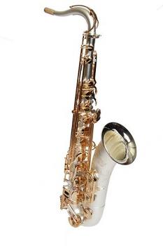 Dakota Tenor Saxophone -  Black/Silver Finish