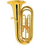 King BBb 3 Valve Tuba [Hardshell Case]