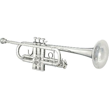 Sonare Professional C Trumpet  [Silver Finish] MADE IN THE USA!