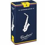 Vandoren Traditional Alto Saxophone Reeds (10 per box)