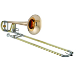 Jupiter XO Professional Bb/F Trombone - Rose Brass Bell