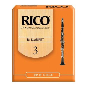 Rico Bb Clarinet Reeds - Box of 10