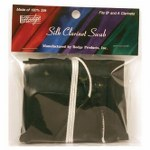 Hodge Bb/A Clarinet Silk Swab - Multiple Colors